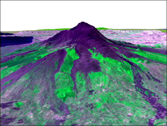 3-D Perspective of Mt. Etna - related image preview