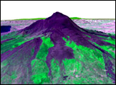3-D Perspective of Mt. Etna - selected image