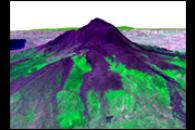 3-D Perspective of Mt. Etna