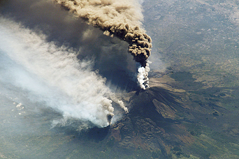 Spectacular View of Etna from the International Space Station - related image preview