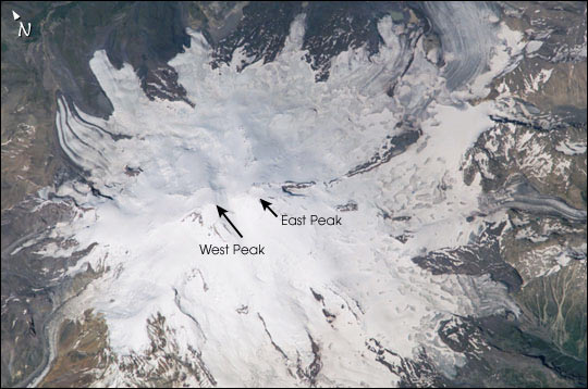 Mt. Elbrus, Caucasus Range