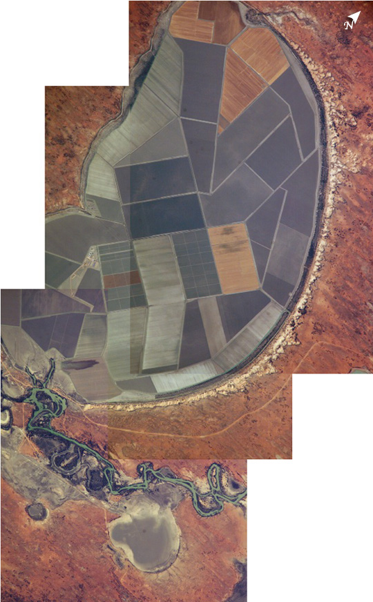 Lake Tandou, New South Wales, Australia