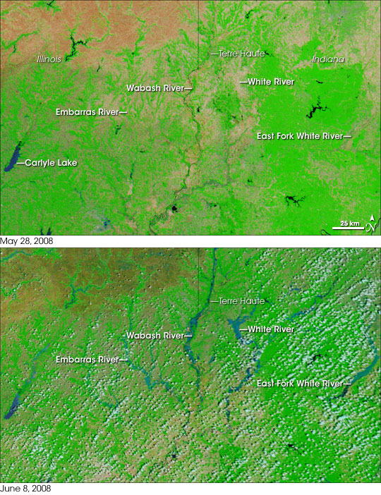 Floods in the U.S. Midwest