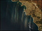 Dust Plumes off South Australia
