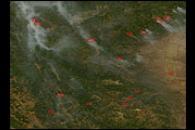 Fires in California