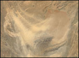 Dust Storm over Southwestern Afghanistan