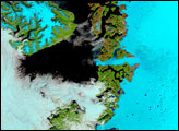Melt Season along the Greenland West Coast