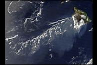 Plume from Kilauea Volcano