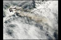 Okmok Volcano Erupts
