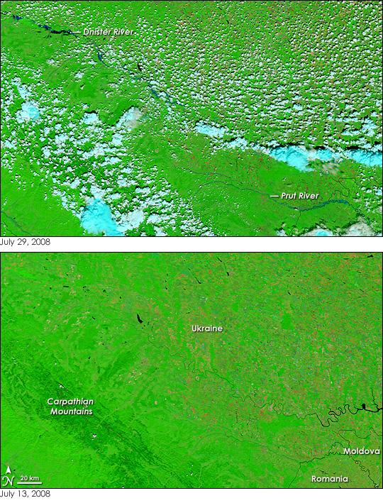 Floods in Eastern Europe