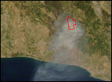 Forest Fire in Southern Turkey