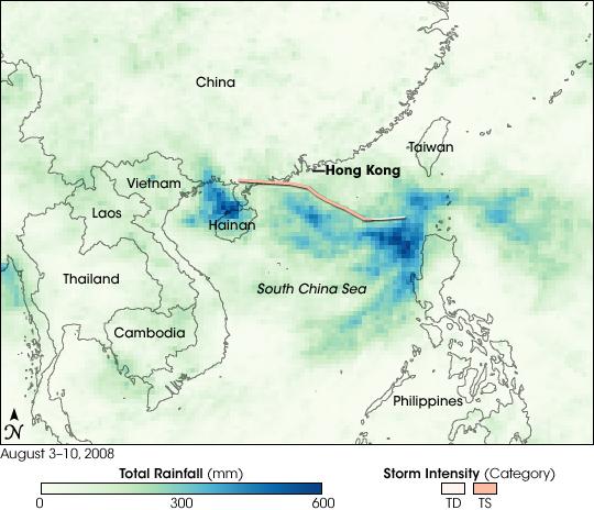 Tropical Storm Kammuri