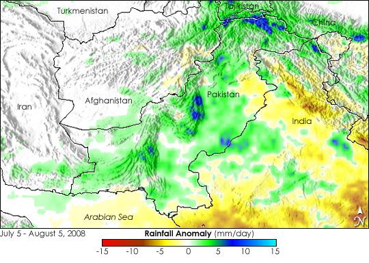 Monsoon Rains Flood Pakistan