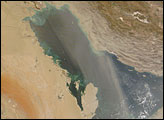 Dust Storm over the Persian Gulf