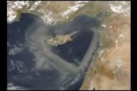 Dust near Cyprus