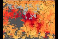 Carbon Monoxide over Africa