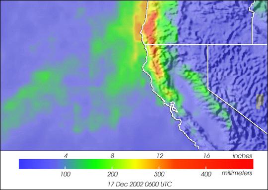 Severe Weather Hits U.S. West Coast
