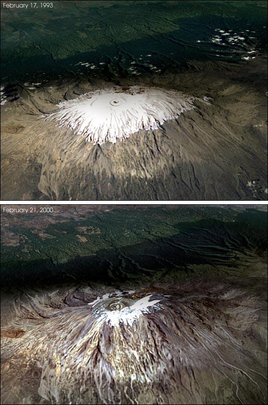 Snow and Ice on Kilimanjaro