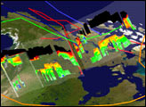 NASA Studies High Springtime Ozone Levels Over Canada and the Arctic