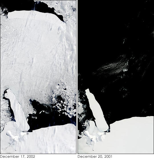 Unusual Ice Conditions In Ross Sea