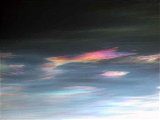 Ozone Destroying Cloud Over Scandinavia