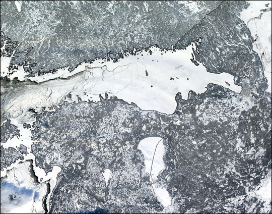 Bitter Winter Freezes Gulf of Finland