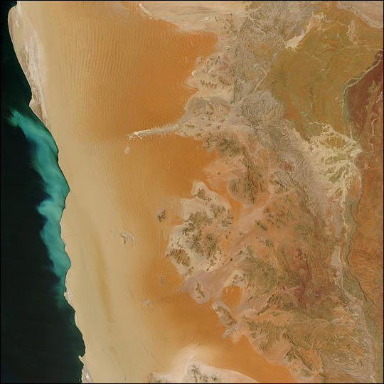 Sulfur Plume Off Namibia