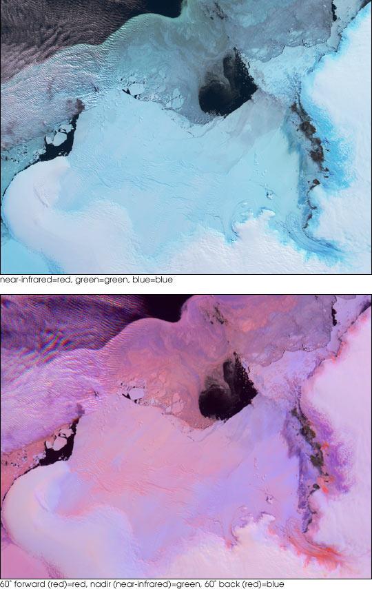 Lutzow-Holm Bay and the Shirase Glacier, Antarctica