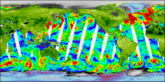 NASA's Newest SeaWinds Instrument Breezes Into Operation
