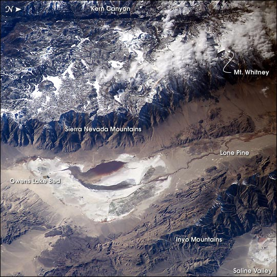 Southern Sierra Nevada and Owens Lake - related image preview