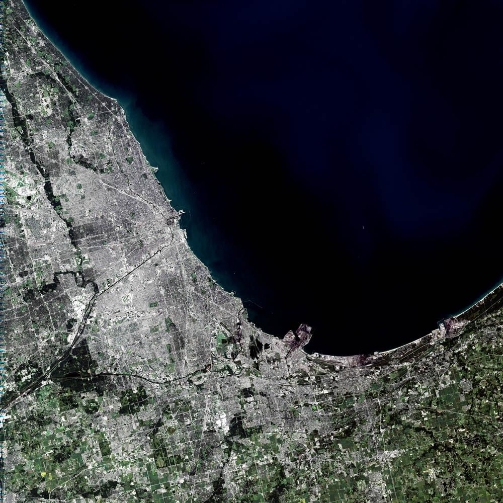 nasa aerial view of illinois - photo #19