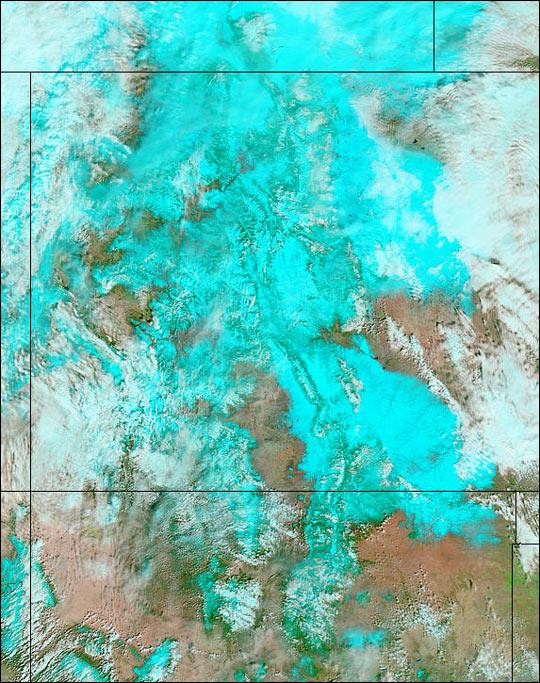 Blizzard Hits Colorado
