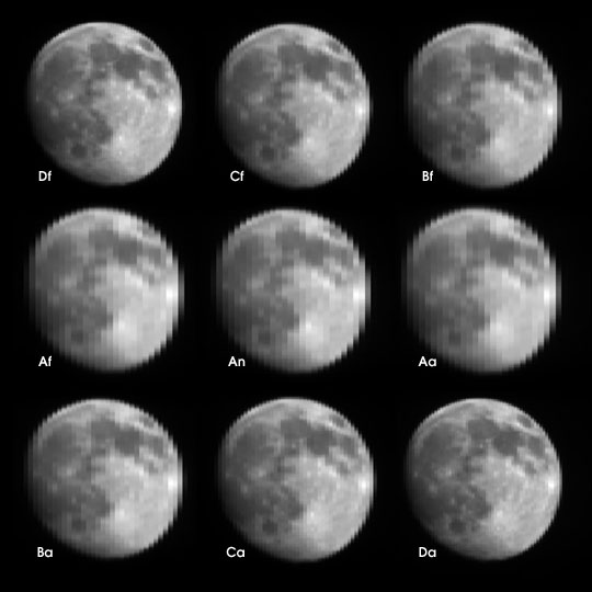 Multiple Views of the Moon