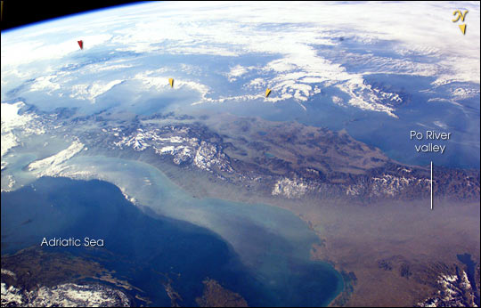 Smog in the Northern Adriatic Sea