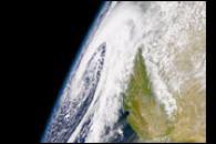 Low Pressure off Northern California Coast