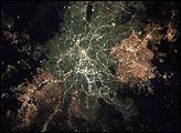 Sao Paulo, Brazil, at Night