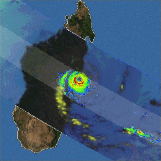 Tropical Cyclone Manou Strikes Madagascar