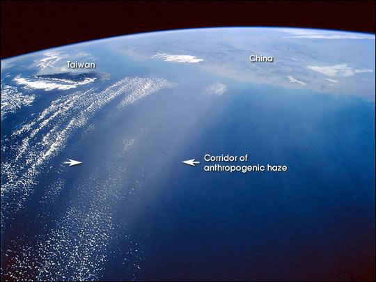 How Does Anthropogenic Haze Influence Climate?