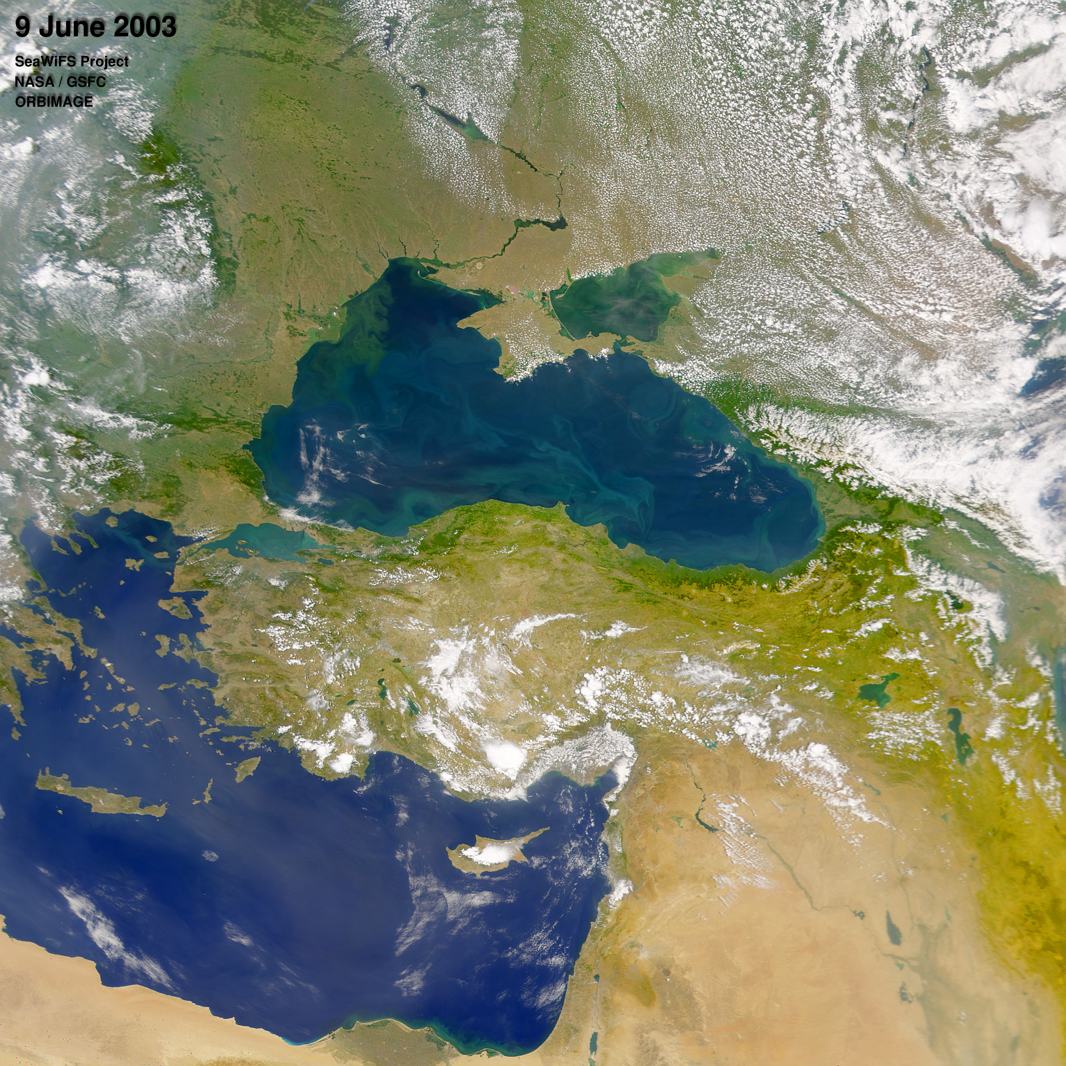 The Danube Spills Into The Black Sea : Image Of The Day