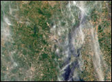 Students and NASA Study Aerosols over Baltimore