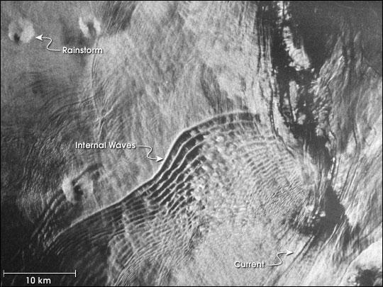Ocean Features from Seasat