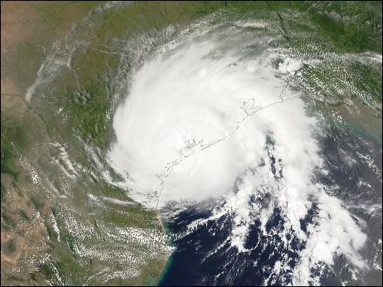 Hurricane Claudette Comes Ashore