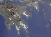 Summer Aerosols over Greece