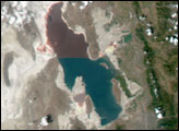 Drought Dwindles the Great Salt Lake