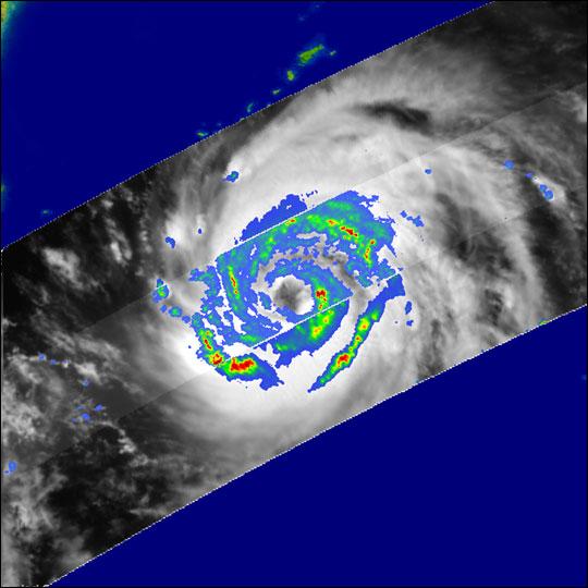 TRMM Satellite Eyes the Eye of Etau