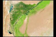 Flooding Along the Indus River