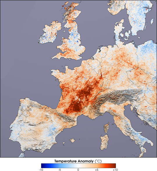 European Heat Wave