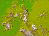 The Topography of the Guiana Highlands