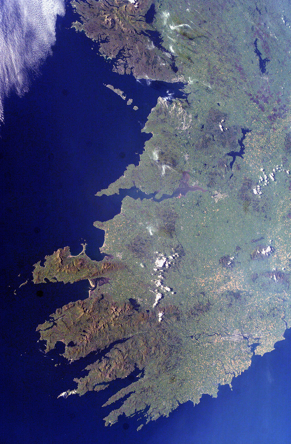 Southwestern Ireland as seen from the International Space Station - related image preview