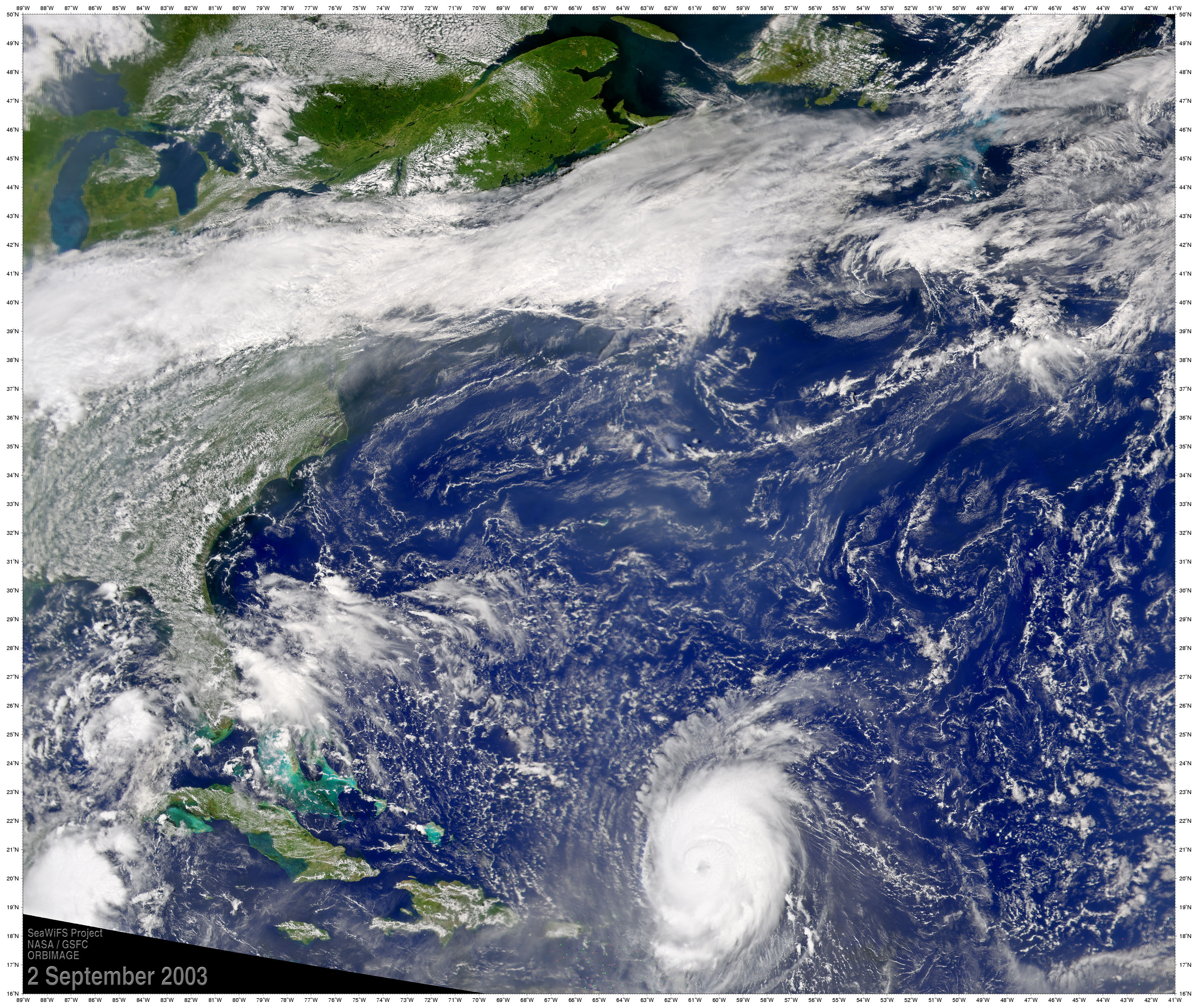 Hurricane Fabian - related image preview